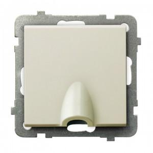 Ospel Sonata GPPK-1R/m/27 - Przyłącze kablowe - Ecru - Podgląd zdjęcia producenta