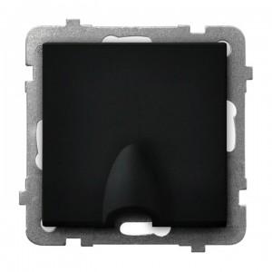Ospel Sonata GPPK-1R/m/33 - Przyłącze kablowe - Czarny Metalik - Podgląd zdjęcia producenta
