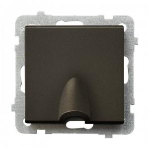 Ospel Sonata GPPK-1R/m/40 - Przyłącze kablowe - Czekoladowy Metalik - Podgląd zdjęcia producenta