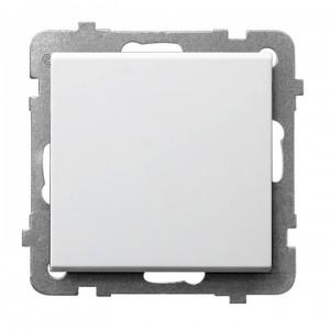 Ospel Sonata ŁP-1R/m/00 - Łącznik pojedynczy 16A - Biały - Podgląd zdjęcia producenta