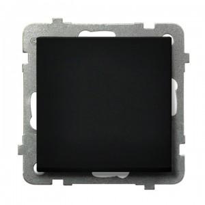 Ospel Sonata ŁP-1R/m/33 - Łącznik pojedynczy 16A - Czarny Metalik - Podgląd zdjęcia producenta