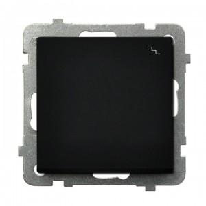 Ospel Sonata ŁP-3R/m/33 - Łącznik schodowy 16A - Czarny Metalik - Podgląd zdjęcia producenta