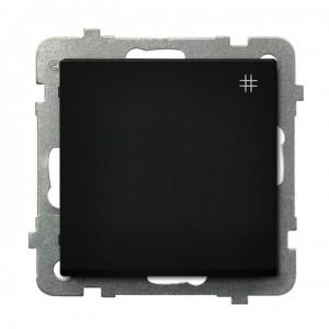 Ospel Sonata ŁP-4R/m/33 - Łącznik krzyżowy 16A - Czarny Metalik - Podgląd zdjęcia producenta