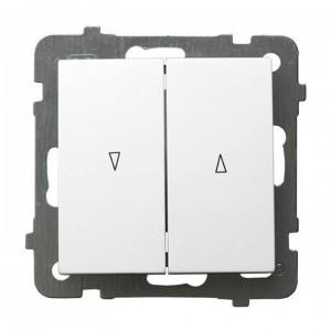 Ospel As ŁP-7GB/m/00 - Łącznik żaluzjowy 10A - Biały - Podgląd zdjęcia producenta