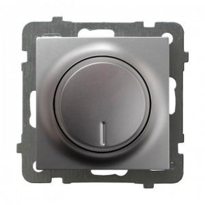 Ospel As ŁP-8GL2/m/18 - Ściemniacz do LED - Uniwersalny 0-100W - Srebro - Podgląd zdjęcia producenta