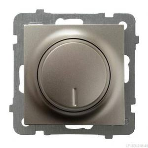 Ospel As ŁP-8GL2/m/45 - Ściemniacz do LED - Uniwersalny 0-100W - Satyna Light - Podgląd zdjęcia producenta