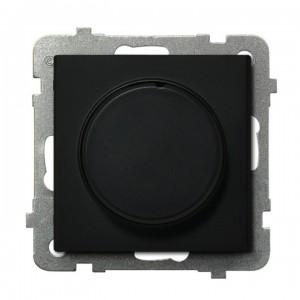 Ospel Sonata ŁP-8RL2/m/33 - Ściemniacz do LED - Uniwersalny 0-100W - Czarny Metalik - Podgląd zdjęcia producenta