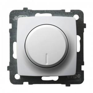 Ospel Karo ŁP-8SL2/m/00 - Ściemniacz do LED - Uniwersalny 0-100W - Biały - Podgląd zdjęcia producenta