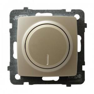Ospel Karo ŁP-8SL2/m/42 - Ściemniacz do LED - Uniwersalny 0-100W - Ecru perłowy - Podgląd zdjęcia producenta