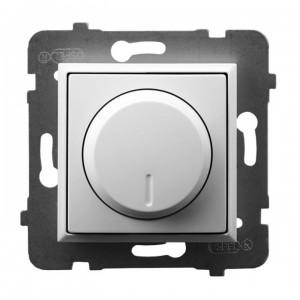 Ospel Aria ŁP-8UL2/m/00 - Ściemniacz do LED - Uniwersalny 0-100W - Biały - Podgląd zdjęcia producenta
