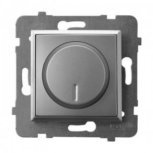 Ospel Aria ŁP-8UL2/m/18 - Ściemniacz do LED - Uniwersalny 0-100W - Srebro - Podgląd zdjęcia producenta