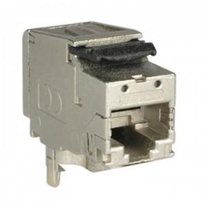 Ospel Aria MGK-T6AE - Moduł gniazda komputerowego FMT RJ45 kat 6a ekranowany - Akcesoria - Podgląd zdjęcia producenta