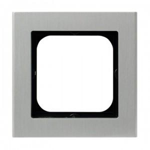 Ospel Sonata R-1RA/35 - Ramka pojedyncza Metalowa - Aluminium (6mm) - Podgląd zdjęcia producenta