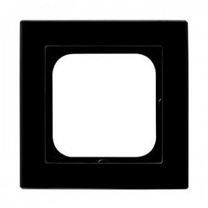 Ospel Sonata R-1RG/32 - Ramka pojedyncza Szklana - Czarne Szkło (6mm) - Podgląd zdjęcia producenta