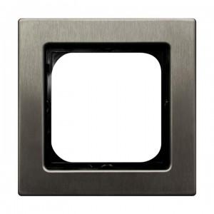 Ospel Sonata Stal Inox R-1RM/37 - Ramka pojedyncza - Stal Inox - Podgląd zdjęcia producenta