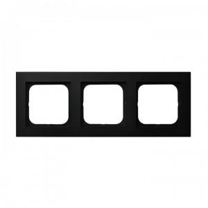 Ospel Sonata R-3R/33 - Ramka potrójna - Czarny Metalik - Podgląd zdjęcia producenta
