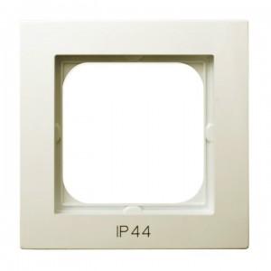 Ospel As RH-1G/27 - Ramka pojedyncza do łączników IP-44 - Ecru - Podgląd zdjęcia producenta