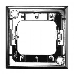 Ospel Aria RO-13U/67 - Pierścień ozdobny wewnętrzny do łączników 3-klawiszowych - Srebro Błysk - Podgląd zdjęcia producenta
