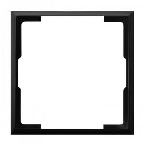 Ospel Aria RO-2U/33 - Pierścień ozdobny wewnętrzny do ściemniaczy, gniazd pojedynczych, antenowych oraz teleinformatycznych - Czarny Metalik - Podgląd zdjęcia producenta
