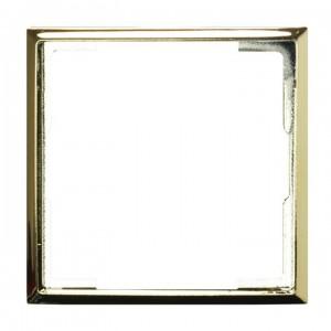 Ospel Aria RO-2U/68 - Pierścień ozdobny wewnętrzny do ściemniaczy, gniazd pojedynczych, antenowych oraz teleinformatycznych - Złoty Błysk - Podgląd zdjęcia producenta