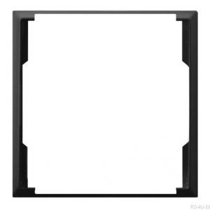 Ospel Aria RO-4U/33 - Pierścień ozdobny wewnętrzny do gniazd podwójnych - Czarny Metalik - Podgląd zdjęcia producenta
